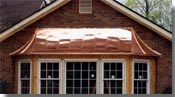 Roofs & Awnings - Pirkle Sheet Metal Fabricators, Custom Sheet Metal & Gutter Systems - PSM
